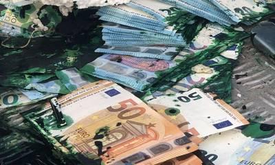 Χωρίς λεία οι ληστές ΑΤΜ - Χωρίς ρευστό η Τράπεζα - «Πόλεμος» στη Στούπα! (photos)