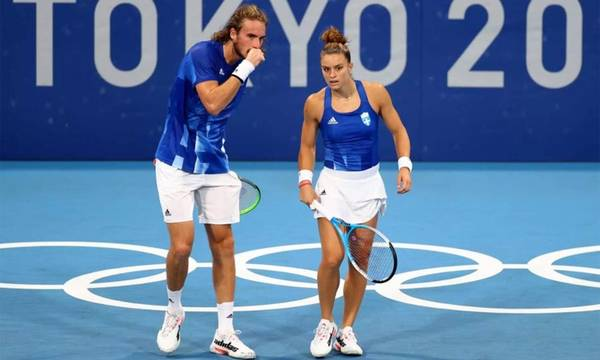 Τσιτσιπάς και Σάκκαρη αποκλείστηκαν από τους ημιτελικούς των Ολυμπιακών