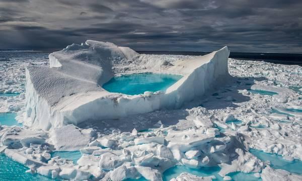 Γροιλανδία: Έχασε σε μία ημέρα μια τεράστια ποσότητα πάγου - Την τρίτη μεγαλύτερη εδώ και 70 χρόνια