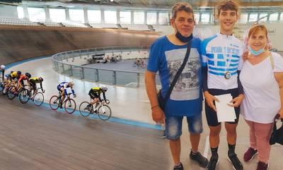 Πρωταθλητής Ελλάδος ο ποδηλάτης Παναγάκος του Σπαρτιατικού Γ.Σ.