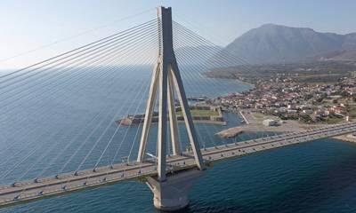 Φωτιά στη Ζήρια Αχαΐας: Κλειστή η γέφυρα Ρίου-Αντιρρίου προς Πάτρα