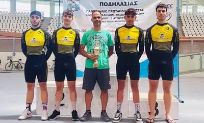 Ποδηλασία: Έλαμψε ο Σπαρτιατικός ΓΣ στο Πανελλήνιο Πρωτάθλημα πίστας!