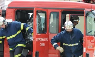 Η Πυροσβεστική απεγκλωβίζει άτομο στον δήμο Ευρώτα