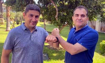 Με τον Υφυπουργό Αθλητισμού Λευτέρη Αυγενάκη συναντήθηκε ο Δήμαρχος Καλαμάτας