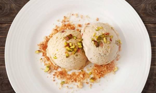 Παγωτό σύκο με ξηρούς καρπούς