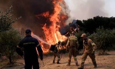 Γιαννόπουλος: «Στην περιοχή του Λάλα βρίσκεται το κυριότερο μέτωπο της φωτιάς στην Ηλεία»