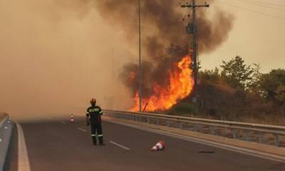 Τα εναέρια μέσα κάλμαραν τις φωτιές στη Μεσσηνία! (video)
