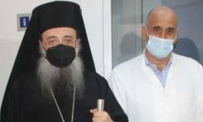 Bγήκε από το Νοσοκομείο ο Μητροπολίτης Πατρών Χρυσόστομος