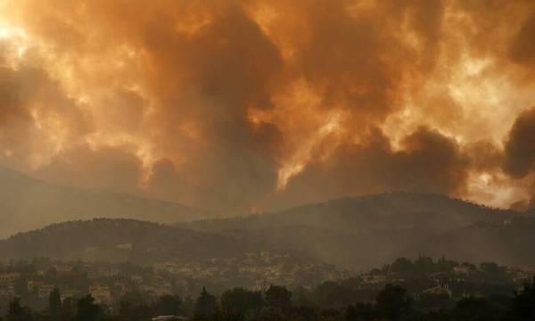 Ρύπανση στην Κρήτη από τις πυρκαγιές Πελοποννήσου και Αττικής