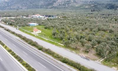 Πωλείται οικόπεδο ιδανικό για logistics 5,880 τ.μ. στην Άνθεια Καλαμάτας