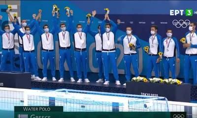 Ο Πελετίδης συγχαίρει την Εθνική Ομάδα Πόλο Ανδρών