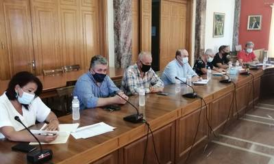Σύσκεψη στον Πύργο των αρμοδίων φορέων για την αποκατάσταση των πληγεισών περιοχών