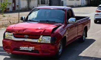 Τροχαίο ατύχημα στο Ναύπλιο - Σύγκρουση τριών οχημάτων (photos)