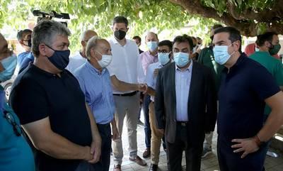 Τσίπρας: «Η μεγαλύτερη περιβαλλοντική καταστροφή από τον Β' Παγκόσμιο σε τόσο μικρό διάστημα»