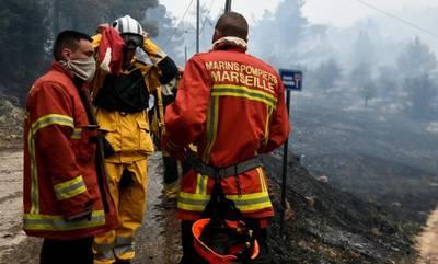 Γορτύνιοι αποχαιρέτησαν με συρτάκι τους Γάλλους πυροσβέστες! (video)