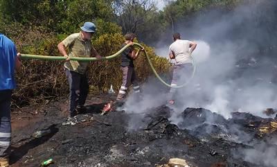 Πύλος: Συναγερμός για νέα φωτιά στον Μαγκλαβά