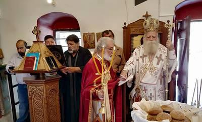 Αντικύθηρα: Λαμπρός ο εορτασμός του Αγίου Μύρωνος (photos)