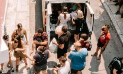Humanity Greece: Αλυσίδα Αγάπης νέων για τους πυρόπληκτους στην Ελλάδα