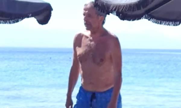 Ο Αντώνης Σαμαράς σε φόρμα ναυαγοσώστη!