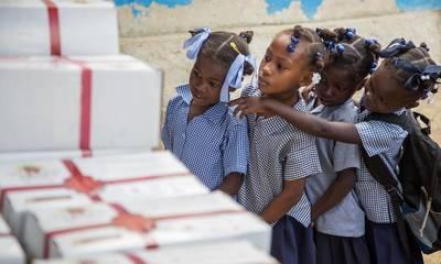 200 γεύματα στους σεισμοπαθείς της Αϊτής από την Εταιρεία Σπαρτιατικών Σπουδών!
