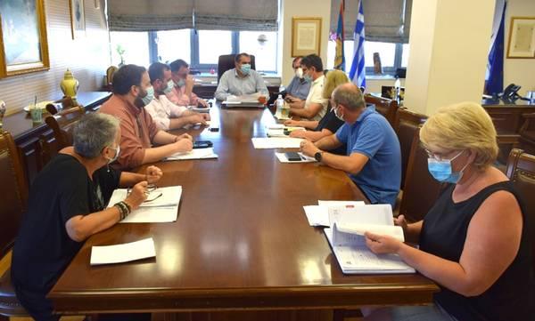 Σύσκεψη για το νέο Τεχνικό Πρόγραμμα 2022 του Δήμου Καλαμάτας