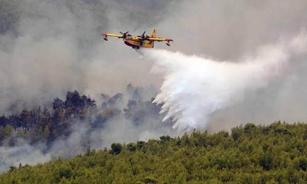 Προσοχή! Πολύ υψηλός κίνδυνος πυρκαγιάς σήμερα σε Κορινθία,Αργολίδα, Λακωνία και Κύθηρα