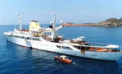 Ελάτε να σας ξεναγήσουμε στη θαλαμηγό «Χριστίνα» που έπλευσε σε Μονεμβασία και Κρήτη (video)