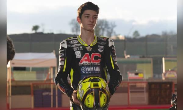 Ο Λάκωνας Βασίλης Παντελεάκης πάει για τη «χρυσή φανέλα» του Red Bull MotoGP Rookies Cup