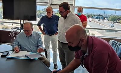Συμβάσεις και προκηρύξεις έργων 1,7 εκ. € για τη Λακωνία υπέγραψε ο Νίκας, στη Σπάρτη