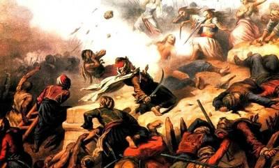 Σαν σήμερα οι οπλαρχηγοί της Μάνης νικούν τον κύριο όγκο των δυνάμεων του Ιμπραήμ