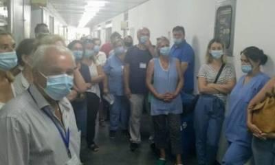 Πάτρα: Καταλήψεις εργαζομένων σε νοσοκομεία κατά του υποχρεωτικού εμβολιασμού
