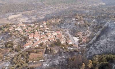 Ξεκίνησε η υποβολή δηλώσεων ζημιάς φυτικού κεφαλαίου από τις πυρκαγιές στην Γορτυνία