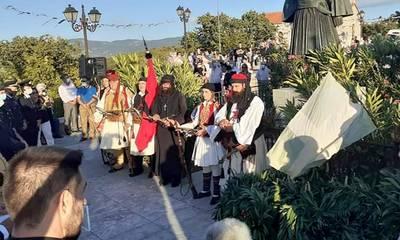 Τιμήθηκε ο ήρωας Νικηταράς στο χωριό Τουρκολέκα στη Μεγαλόπολη