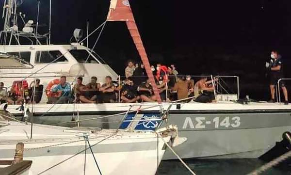Συνελήφθησαν οι 2 διακινητές των 70 μεταναστών που εντοπίστηκαν στα Κύθηρα