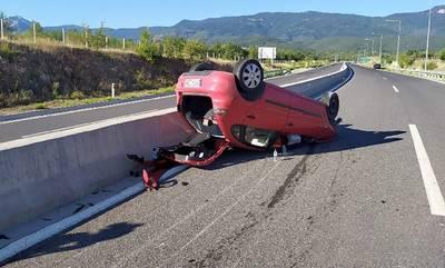 Λεύκτρο - Σπάρτη: Τροχαίο με σοβαρό τραυματισμό κοντά στην Πελλάνα