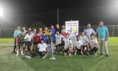Πύργος: Με επιτυχία ολοκληρώθηκε το φιλανθρωπικό τουρνουά ποδοσφαίρου του Συλλόγου Νέων Καταραχίου