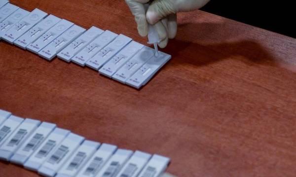 Rapid tests στην Ελίκα του Δήμου Μονεμβασίας