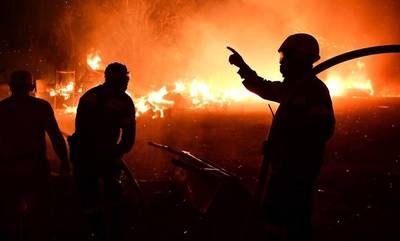 Ηλεία: Υπό μερικό έλεγχο η πυρκαγιά στο Μαρκόπουλο Τραγανού