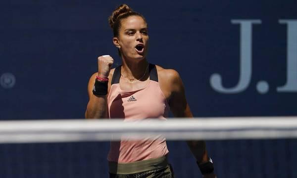 Στους «16» του US Open η Μαρία Σάκκαρη