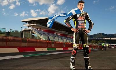 Στον Λάκωνα Βασίλη Παντελεάκη η «χρυσή φανέλα» του Red Bull MotoGP Rookies Cup!