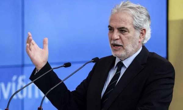 Ο Χρήστος Στυλιανίδης υπουργός Κλιματικής Κρίσης και Πολιτικής Προστασίας