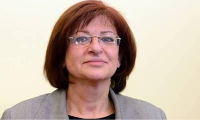 Η βουλευτής του ΚΚΕ Διαμάντω Μανωλάκου περιοδεύει στα καμένα της Λακωνίας