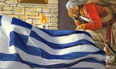 «Τι µε κοιτάζετε, βρε Ελληνες; Εγώ είµαι, ο Κολοκοτρώνης»