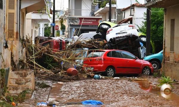 7 Σεπτεμβρίου 2016 - Τραγωδία στην πλημμυρισμένη Καλαμάτα