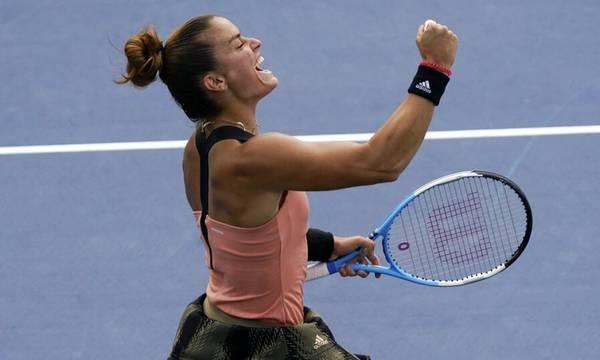 Σάκκαρη – Αντρεέσκου 2-1: Ασταμάτητη στους «8» η Μαρία του US Open (video)