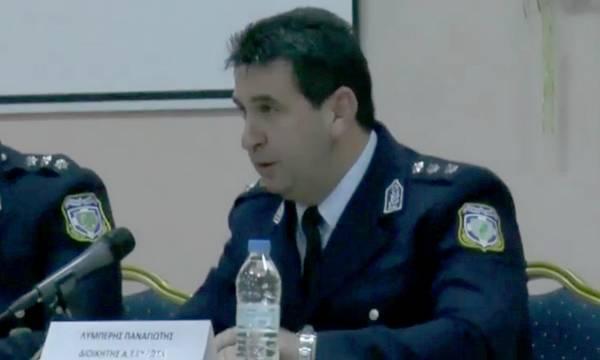 Ο Παναγιώτης Λυμπέρης, νέος Διοικητής του Τμήματος Ασφαλείας Σπάρτης