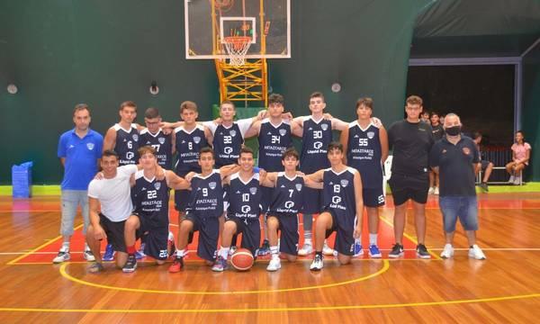 Ευκλής Καλαμάτας: Νικητήριο ξεκίνημα στο εφηβικό πρωτάθλημα μπάσκετ