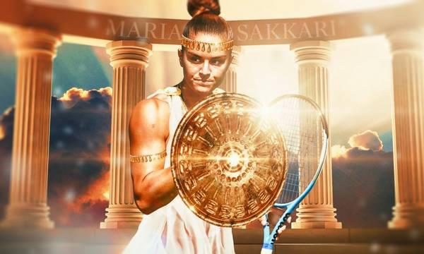 Το US Open έντυσε την Σάκκαρη… τι άλλο, Σπαρτιάτισσα!