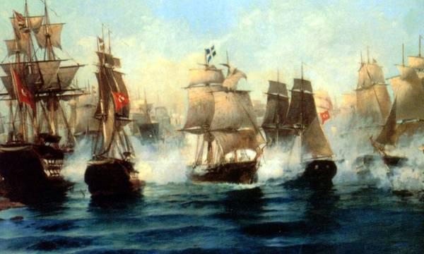 Συγκλονιστικό! Δείτε πως, το 1822, σώθηκε το Ναύπλιο αφού οι Έλληνας νίκησαν τον Τουρκικό στόλο!