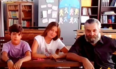 Αντικύθηρα: Αγιασμός στο δημοτικό σχολείο του νησιού με δύο μαθητές (video)